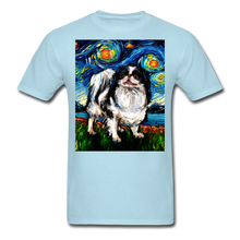 Load image into Gallery viewer, Japanese Chin Night Unisex Classic T-Shirt - powder blue