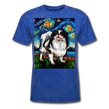 Load image into Gallery viewer, Japanese Chin Night Unisex Classic T-Shirt - mineral royal