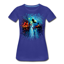 Load image into Gallery viewer, Flight of the Dragon Women's Premium T-Shirt - royal blue
