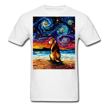 Load image into Gallery viewer, Beagle Night 2 Unisex Classic T-Shirt - white