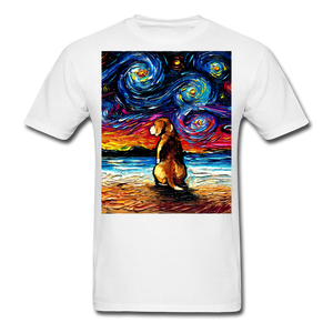 Beagle Night 2 Unisex Classic T-Shirt - white