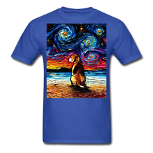 Load image into Gallery viewer, Beagle Night 2 Unisex Classic T-Shirt - royal blue