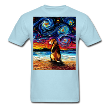Load image into Gallery viewer, Beagle Night 2 Unisex Classic T-Shirt - powder blue