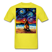 Load image into Gallery viewer, Beagle Night 2 Unisex Classic T-Shirt - yellow