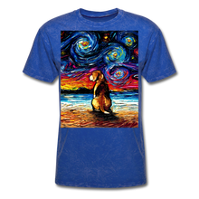Load image into Gallery viewer, Beagle Night 2 Unisex Classic T-Shirt - mineral royal