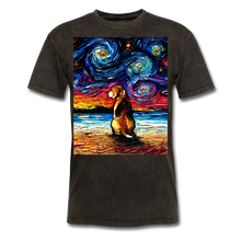 Load image into Gallery viewer, Beagle Night 2 Unisex Classic T-Shirt - mineral black