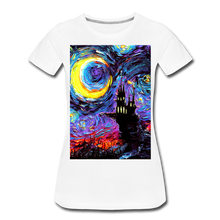 Load image into Gallery viewer, The Haunting of van Gogh Women's Premium T-Shirt - white