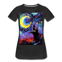 Load image into Gallery viewer, The Haunting of van Gogh Women's Premium T-Shirt - black