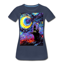 Load image into Gallery viewer, The Haunting of van Gogh Women's Premium T-Shirt - navy