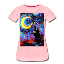 Load image into Gallery viewer, The Haunting of van Gogh Women's Premium T-Shirt - pink