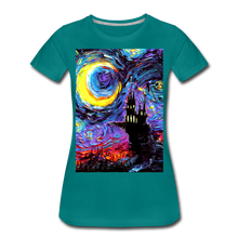 Load image into Gallery viewer, The Haunting of van Gogh Women's Premium T-Shirt - teal
