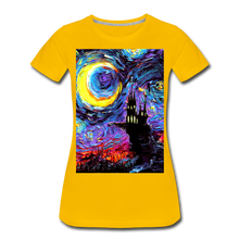 Load image into Gallery viewer, The Haunting of van Gogh Women's Premium T-Shirt - sun yellow