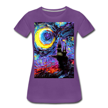 Load image into Gallery viewer, The Haunting of van Gogh Women's Premium T-Shirt - purple