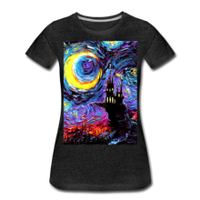 Load image into Gallery viewer, The Haunting of van Gogh Women's Premium T-Shirt - charcoal gray