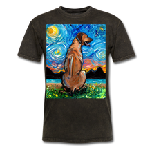 Load image into Gallery viewer, Rhodesian Ridgeback Night Unisex Classic T-Shirt - mineral black