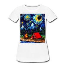 Load image into Gallery viewer, Off The Beaten Path Women's Premium T-Shirt - white