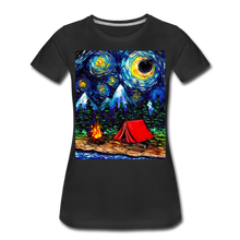 Load image into Gallery viewer, Off The Beaten Path Women's Premium T-Shirt - black