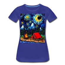 Load image into Gallery viewer, Off The Beaten Path Women's Premium T-Shirt - royal blue