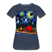Load image into Gallery viewer, Off The Beaten Path Women's Premium T-Shirt - navy