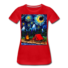 Load image into Gallery viewer, Off The Beaten Path Women's Premium T-Shirt - red