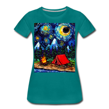 Load image into Gallery viewer, Off The Beaten Path Women's Premium T-Shirt - teal