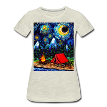 Load image into Gallery viewer, Off The Beaten Path Women's Premium T-Shirt - heather oatmeal