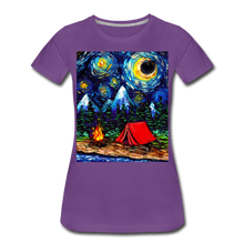 Load image into Gallery viewer, Off The Beaten Path Women's Premium T-Shirt - purple