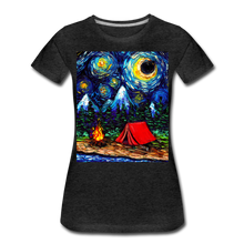 Load image into Gallery viewer, Off The Beaten Path Women's Premium T-Shirt - charcoal gray