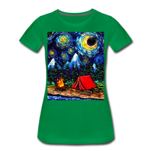 Load image into Gallery viewer, Off The Beaten Path Women's Premium T-Shirt - kelly green