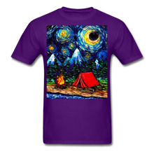 Load image into Gallery viewer, Off The Beaten Path Unisex Classic T-Shirt - purple