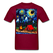 Load image into Gallery viewer, Off The Beaten Path Unisex Classic T-Shirt - burgundy