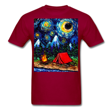 Load image into Gallery viewer, Off The Beaten Path Unisex Classic T-Shirt - dark red