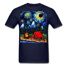 Load image into Gallery viewer, Off The Beaten Path Unisex Classic T-Shirt - navy