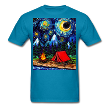 Load image into Gallery viewer, Off The Beaten Path Unisex Classic T-Shirt - turquoise