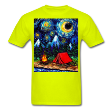 Load image into Gallery viewer, Off The Beaten Path Unisex Classic T-Shirt - safety green