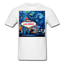 Load image into Gallery viewer, van Gogh Never Saw Vegas Unisex Classic T-Shirt - white