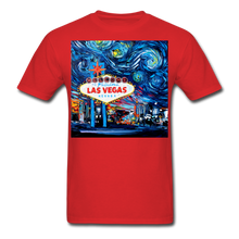 Load image into Gallery viewer, van Gogh Never Saw Vegas Unisex Classic T-Shirt - red