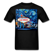 Load image into Gallery viewer, van Gogh Never Saw Vegas Unisex Classic T-Shirt - black