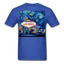 Load image into Gallery viewer, van Gogh Never Saw Vegas Unisex Classic T-Shirt - royal blue