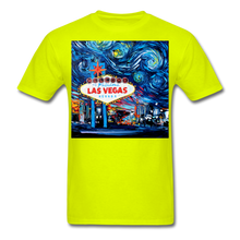 Load image into Gallery viewer, van Gogh Never Saw Vegas Unisex Classic T-Shirt - safety green