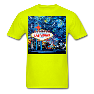 van Gogh Never Saw Vegas Unisex Classic T-Shirt - safety green