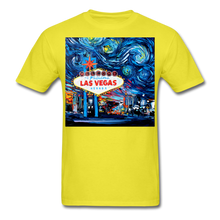 Load image into Gallery viewer, van Gogh Never Saw Vegas Unisex Classic T-Shirt - yellow