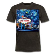 Load image into Gallery viewer, van Gogh Never Saw Vegas Unisex Classic T-Shirt - mineral black