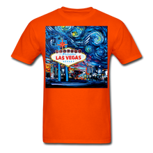 Load image into Gallery viewer, van Gogh Never Saw Vegas Unisex Classic T-Shirt - orange
