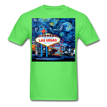 Load image into Gallery viewer, van Gogh Never Saw Vegas Unisex Classic T-Shirt - kiwi