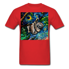 Load image into Gallery viewer, Just Hanging Around Unisex Classic T-Shirt - red