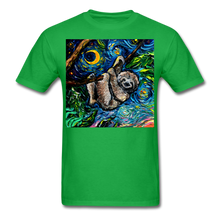 Load image into Gallery viewer, Just Hanging Around Unisex Classic T-Shirt - bright green