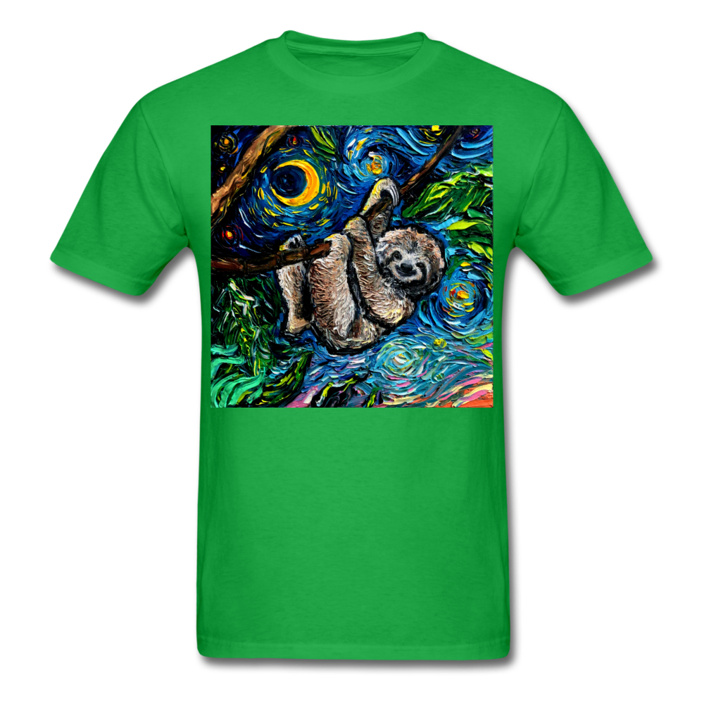 Just Hanging Around Unisex Classic T-Shirt - bright green