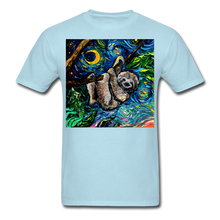 Load image into Gallery viewer, Just Hanging Around Unisex Classic T-Shirt - powder blue