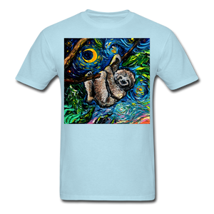 Just Hanging Around Unisex Classic T-Shirt - powder blue